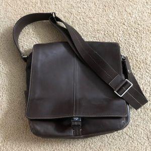Authentic Coach Leather Metropolitan Courier Bag